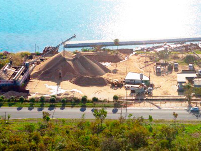 Porto de Areia Eptácio vista da orla